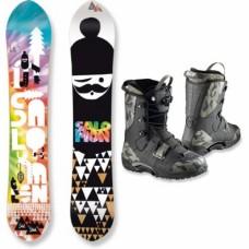 Snowboard & Snowboard Boots